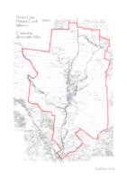 Original map provided to the Alliance by a member ensuring inclusion of all of the creeks flowing into and through our corridor.  This map was originally provided to the City of San Antonio when establishing recognition of our neighborhood.